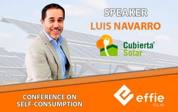 Cubierta Solar will hold a conference at Effie Solar