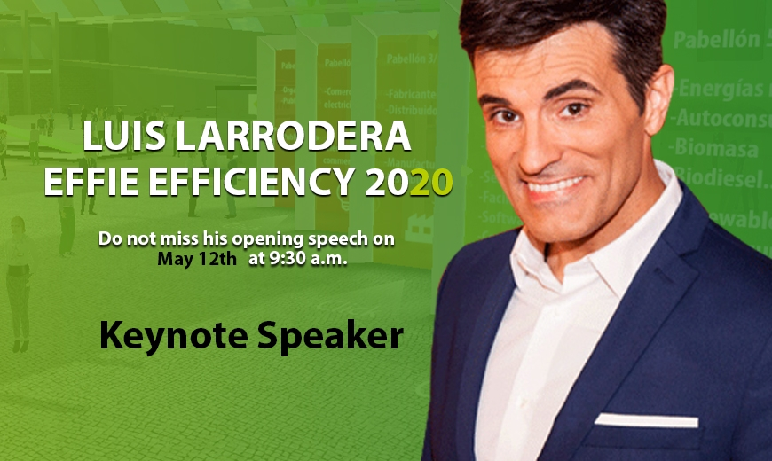 Luis Larrodera will be our keynote speaker at Effie Efficiency 2020