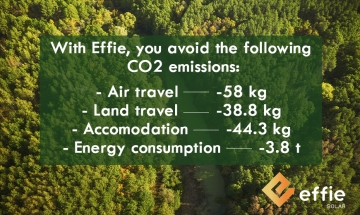 Reduce your carbon footprint with Effie