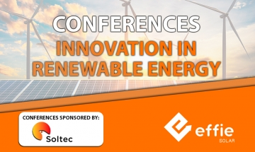 Soltec, official sponsor of the conferences on innovation in renewable energy and energy storage